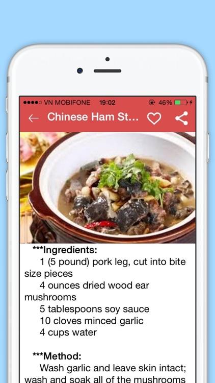 Ham Recipes - Collection of 200+ Ham Recipes screenshot-3