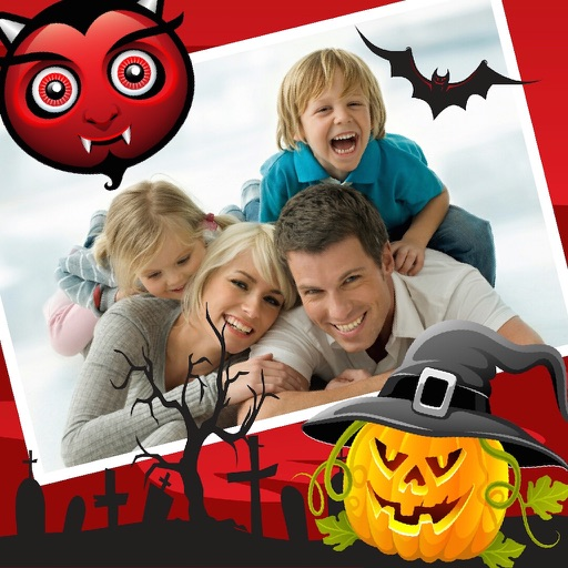 Halloween Photo Frames and Stickers