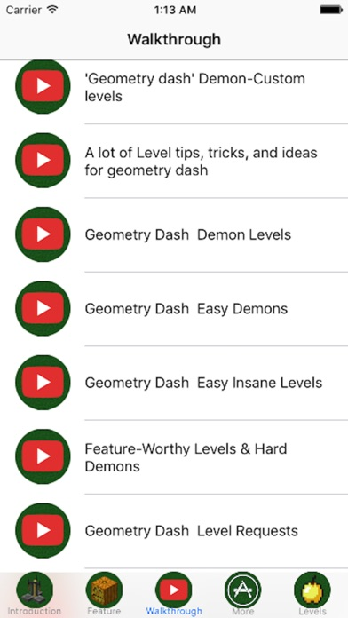 Edition Guide For - Geometry Dash