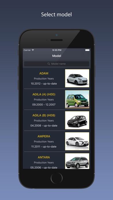 Screenshot for TechApp for Opel in Czech Republic App Store