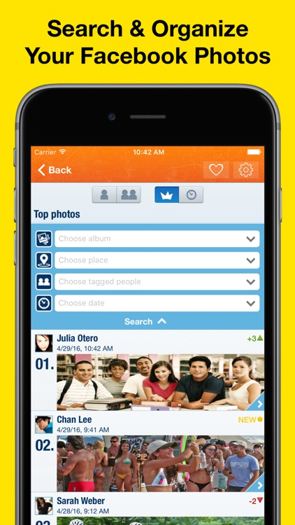 MyTopPhotos Pro - Organize & share your best moments