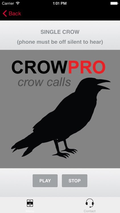 Crow Calls & Crow Sounds for Crow Hunting + BLUETOOTH COMPATIBLE screenshot-0