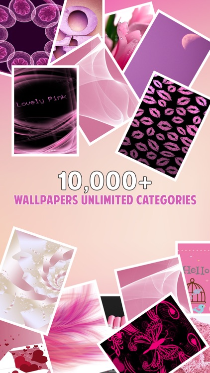 Girly Wallpapers & Backgrounds – Pink Wallpapers