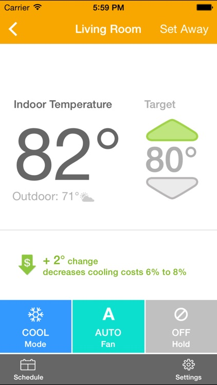 EnergyHub Thermostat screenshot-1