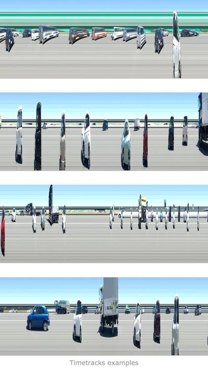 Timetracks - Slit-Scan Camera