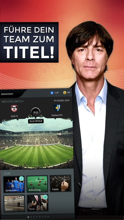 Goal One - DFB Fußball Manager screenshot-0