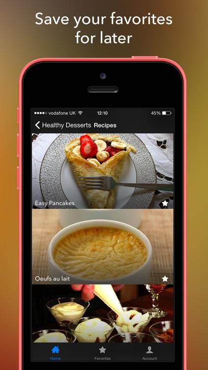 Healthy Dessert Recipes - Low Calorie Clean Diet screenshot-4