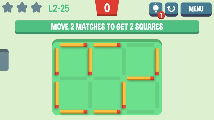 Move the Match - Matchstick Puzzles screenshot-4