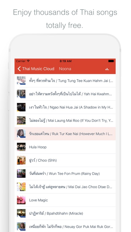 Thai Music Cloud - Enjoy Thai Songs - Online Game Hack and