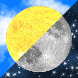 Ícone do app Lumos: Sun and Moon Tracker
