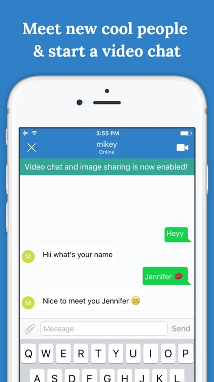 Random Chat - Talk to New Teens & Video Webcam App