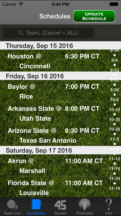 College Football Radio & Live Scores + Highlights screenshot-3
