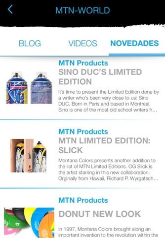 Montana Colors App - náhled