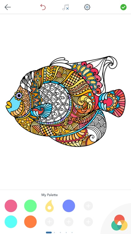 Adult Animal Coloring Pages screenshot-3