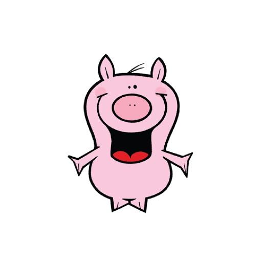 Piggies Stickers