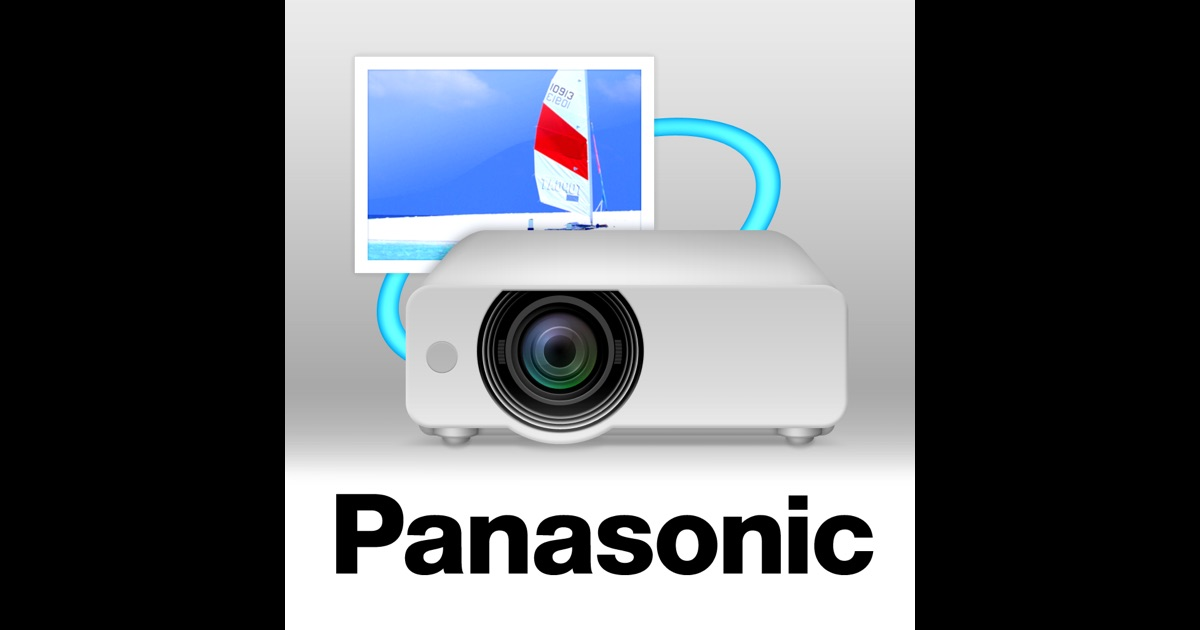 Panasonic wireless projector on the app store for Apple projector for ipad
