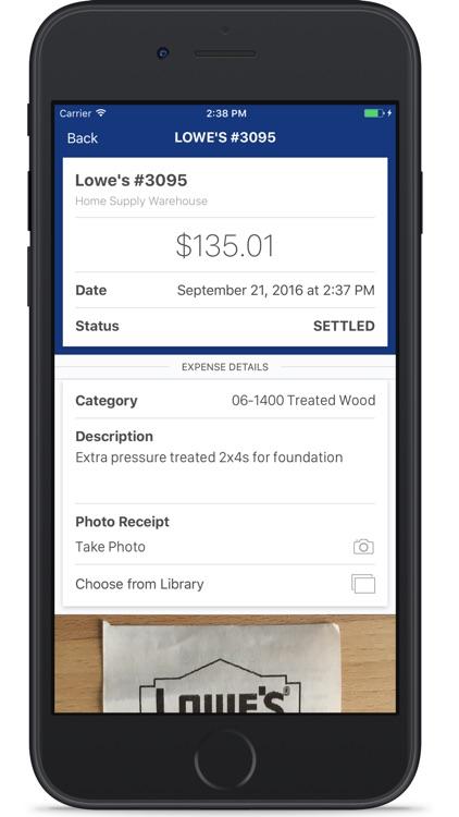 Lowe's PreLoad screenshot-3