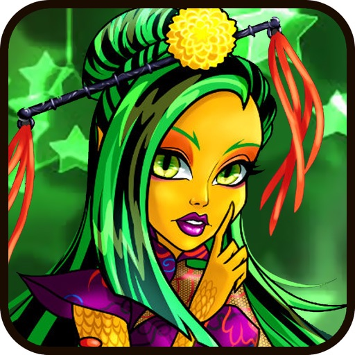 Monster Girls Fashion Beauty Makeover & Dress Up: Style the Fashionistas iOS App