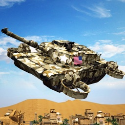Flying World Tank war 3d Simulator