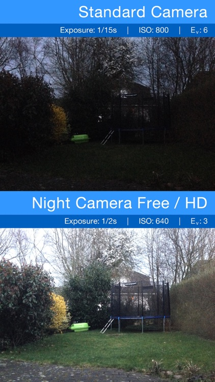 Night Camera FREE - Low light photography