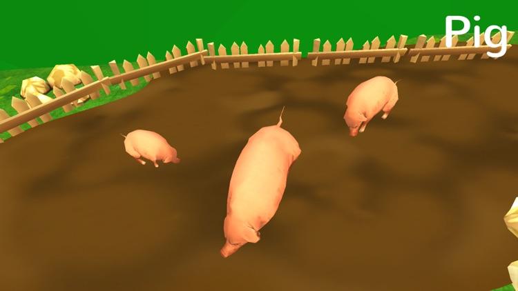 Learn Animal Sounds: 3D Zoo Jungle Safari For Kids screenshot-4