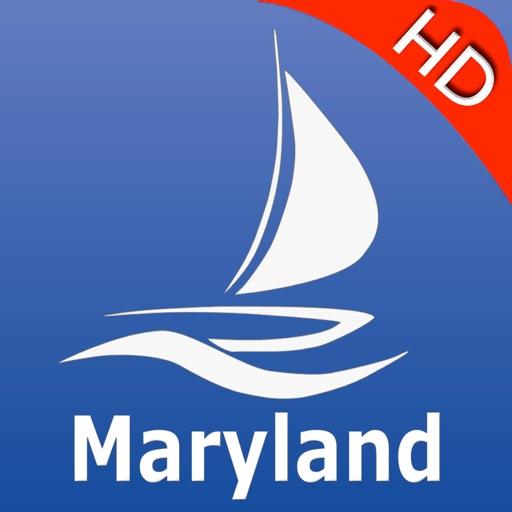 Maryland GPS Nautical Maps Pro