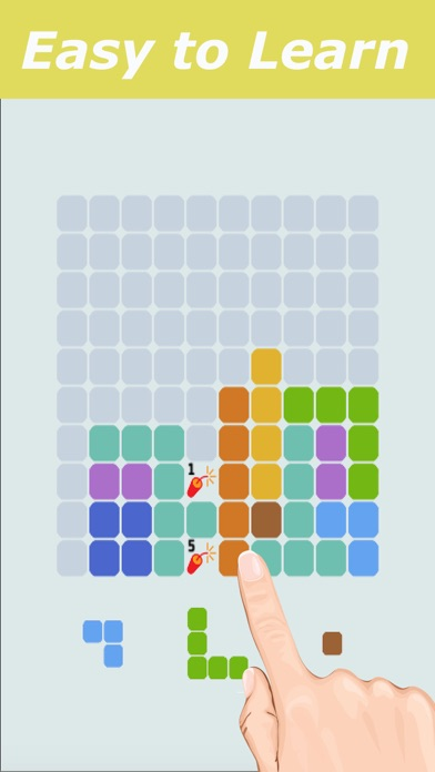 1010 Free to Fit Block Blitz Puzzle Geometry Games