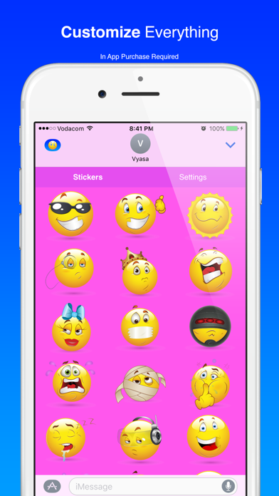 Cool Smiley Sticker Emoji for iMessage on PC: Download free