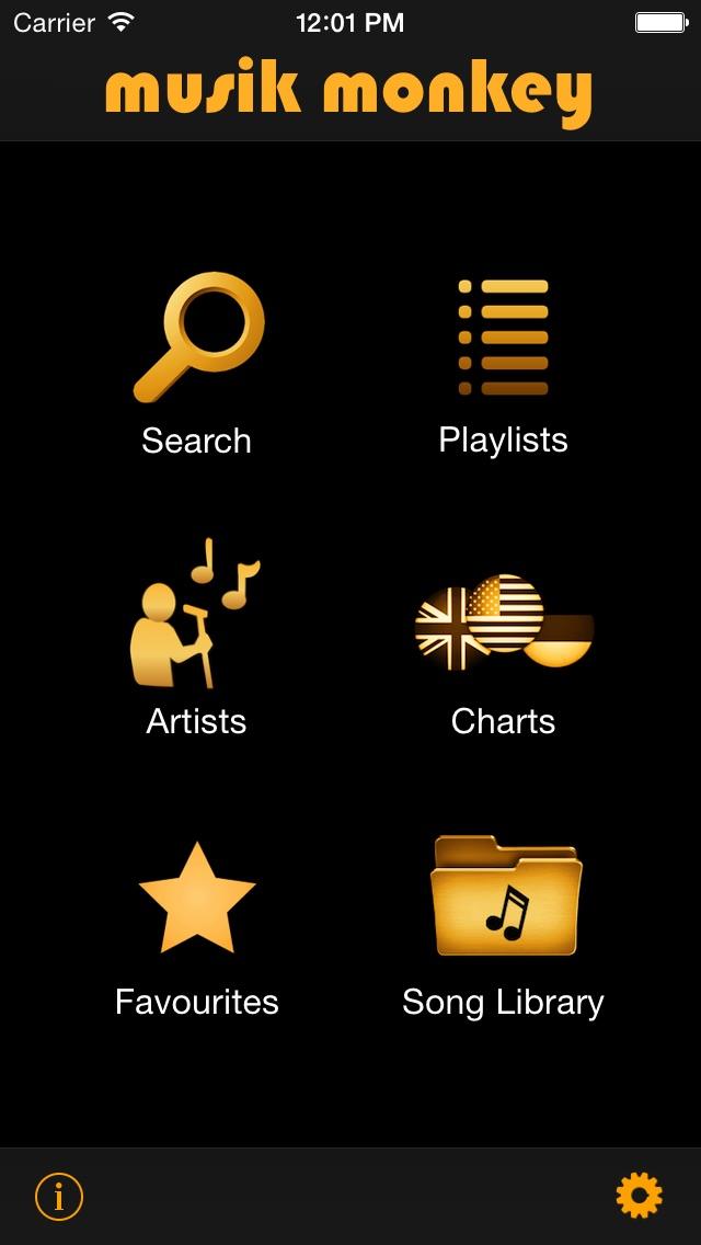 Musik Monkey Lite (Free Music Video Player)