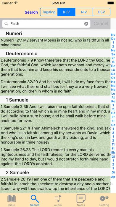 Ang Biblia Filipino Tagalog-English Audio Bible - App - iOS me
