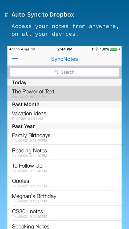 SyncNotes: Modern Text Editor
