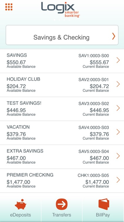 Logix Mobile Banking screenshot-3