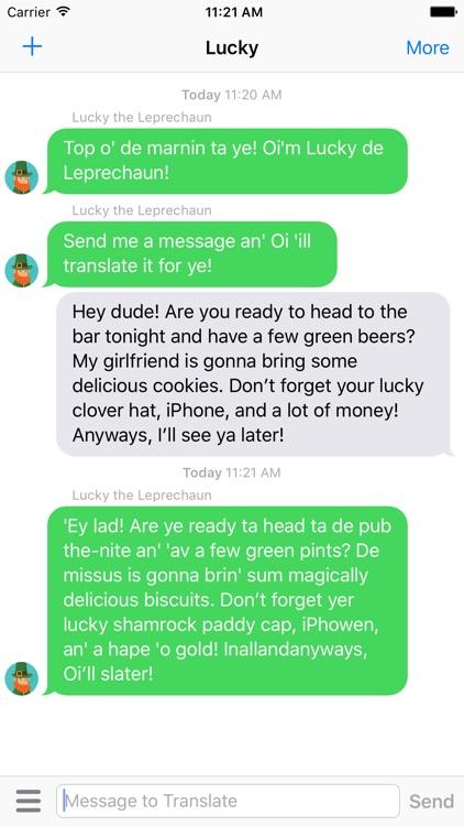 Lucky the Leprechaun - Talk like a Leprechaun