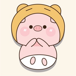 Pinky Pig Animated Stickers
