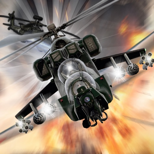 Copters Combat Racing - Simulator Race Helicopter Game