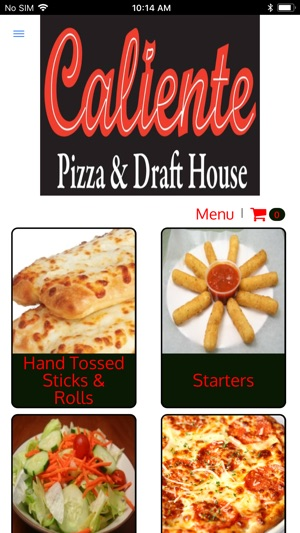 Caliente Pizza on the App Store