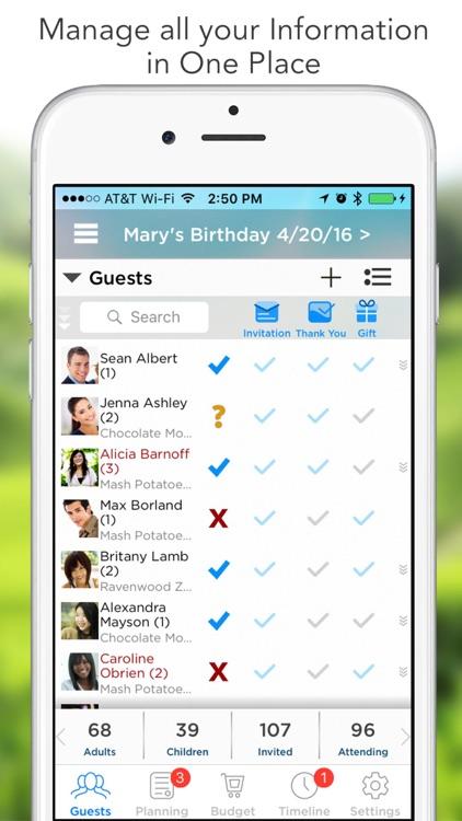 Pro Party Planner screenshot-0