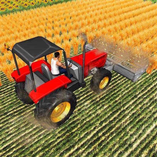 Forage Plow Farming Harvester - Farming Simulator Game.
