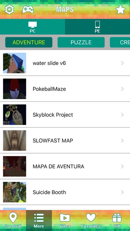 Survival Maps Guide for Minecraft Pocket Edition - Online