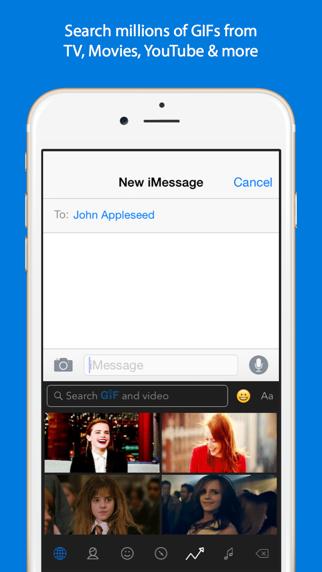 Screenshot for GIF Keyboard in Taiwan App Store