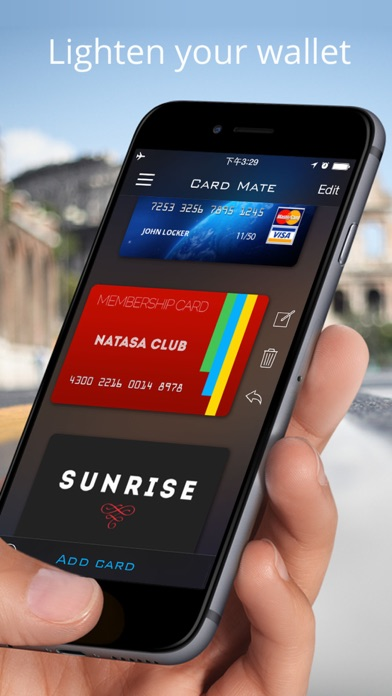 Screenshot for Card Mate Pro- credit cards in Israel App Store