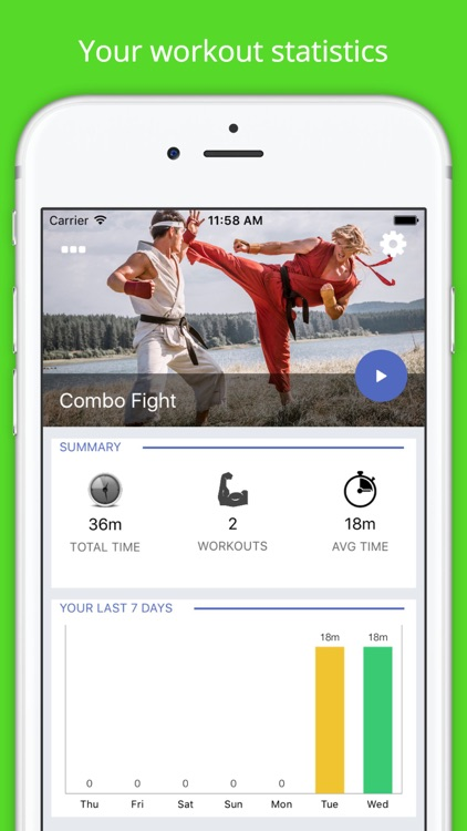 Karate Combo Fighting Workout Challenge PRO