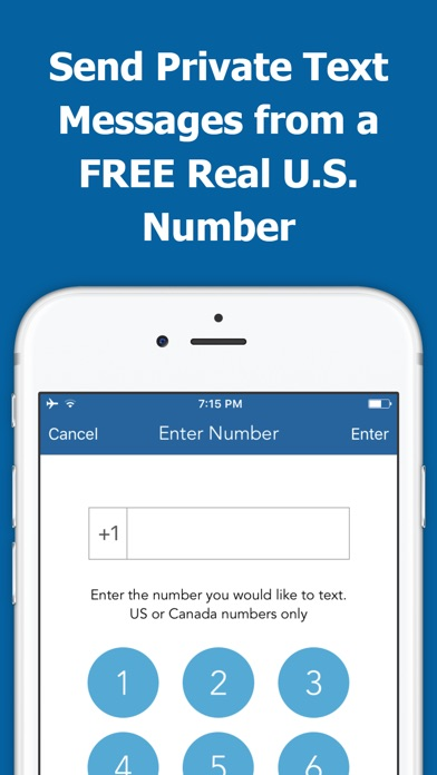 Secret Text Free Anonymous Texting & Messages App app image