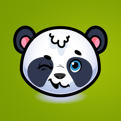 Emotion Panda Sticker - Emoji