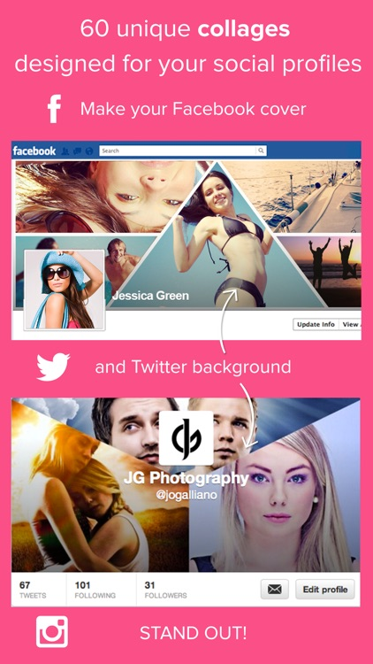 Giant Square PRO for Instagram, Twitter & Facebook screenshot-3