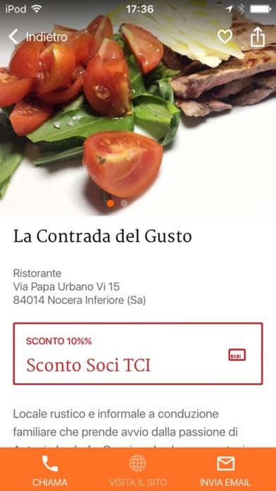 Screenshot of Campania – Dormire e Mangiare Touring3