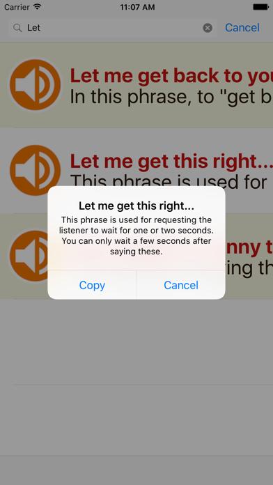 1200 Useful English Expressions Offline For IPad screenshot three