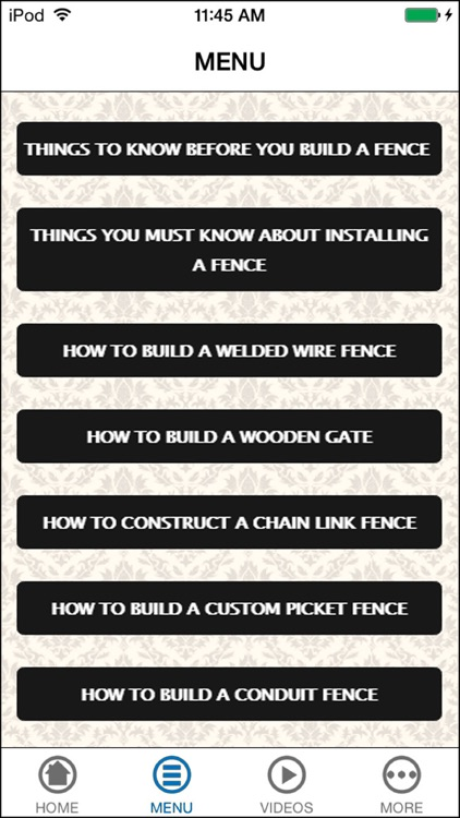Design & Build Your Awesome Wood Privacy Fence screenshot-4