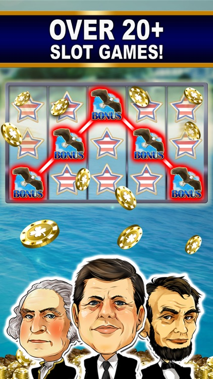 SLOTS: TRUMP vs. HILLARY CLINTON Free Slot Games screenshot-4