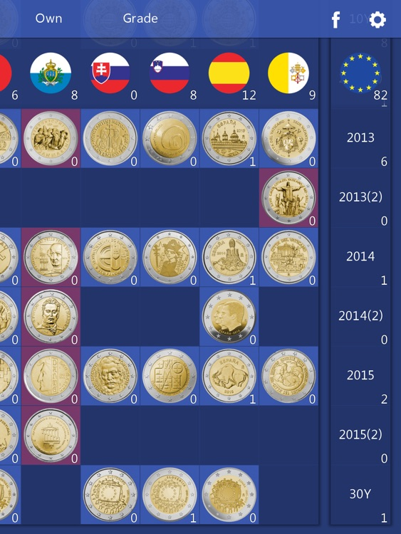 Euro Coin Collection HD - 2 Euro Commemoratives
